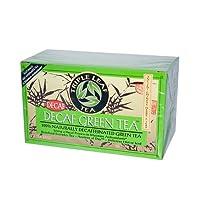 Triple Leaf Tea 0877589 Decaffeinated Green Tea - 20 Tea Bags