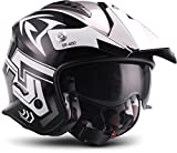 Soxon SR-400 Storm 'Titan' · Jet-Helm · Motorrad-Helm Roller-Helm Scooter-Helm Bobber Mofa-Helm...