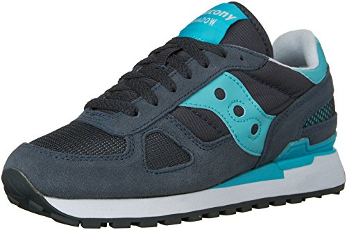 Saucony Shadow Original Scarpe Low-Top, Donna, Grigio (Slate), 38