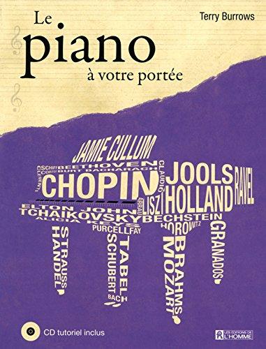 Le piano à votre portée NE + CD tutoriel inclus