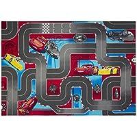 Disney Cars Queen Mc Lightning Strassenteppiche Strasse Rennstrecke  Kinderteppich Teppich Kinderteppich Kinder Teppich Spielteppich Darf In