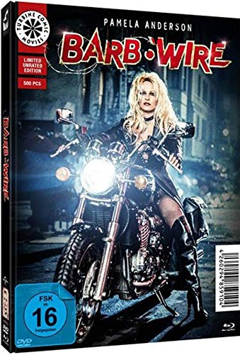 Barb Wire - Unrated - Limited Edition - Mediabook  (+ DVD), Cover C [Blu-ray]