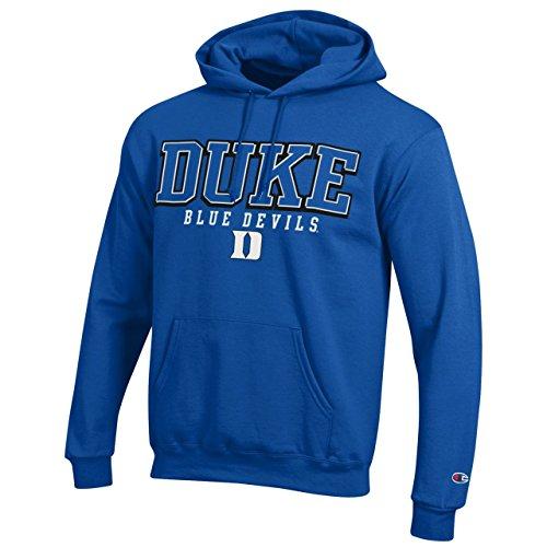 Duke Blue Devils Kapuzenpullover für Erwachsene, mit Arch-Logo, Königsblau, Herren, königsblau, XX-Large -
