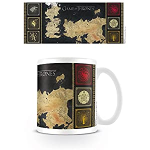 TAZA GAME OF THRONES MAP 10