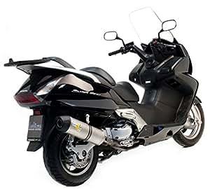 Silencieux LV ONE Homologue EVO II Position Origine - Acier Inox - SWT 400/600 Honda - SW-T 400/600 I.E. (2009/2011)