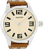 Oozoo C1002–Uhr für Männer, Lederband
