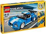 #7: Lego Turbo Track Racer, Light Blue