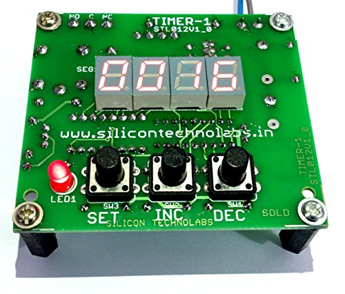 Silicon TechnoLabs Universal Digital Timer Supply voltage 230VAC/50Hz