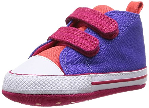 Converse Baby Schuhe CT First Star 2V Lauflernschuhe lila pink - 20 (Converse Lila Schuhe)