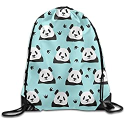 Wellay Panda - Mochila con Cordón para Gimnasio, Diseño de Panda