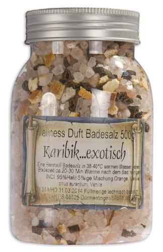 500g Karibik Wellness Badesalz-Blütenbadesalz-Himalaya* Bade-Salz (Belebende Bade-salz)