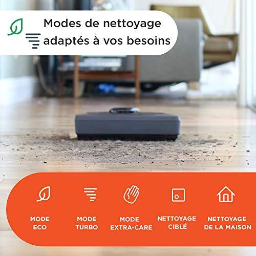 51cjsv0u90L [Bon Plan Neato] Neato Robotics D602 Connected - Compatible avec Alexa - Robot aspirateur avec station de charge, Wi-Fi & App