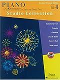 Piano Adventures - Student Choice-Serie:Studio-Kollektion Level 6: Musiknoten.