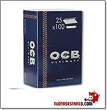 PAPEL OCB ULTIMATE 70MM 100 HOJAS (CADA ESTUCHE CONTIENE 25 LIBRITOS)
