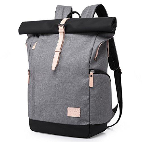 Wasserdicht Laptop Rucksack 15,6 zoll für Männer und Frauen - Cornasee Diebstahlsicherung Tagesrucksack Schulrucksack College-Rucksack,große Kapazität 30L Grau