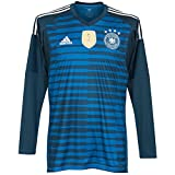 adidas Herren DFB Home Goalkeeper 2018 Trikot, Trace Royal Blue/White, 3XL