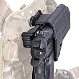 Orpaz 1911 Thumb Release MOLLE Holster 360 Rotation With Tension Adjustment Screw by Orpaz