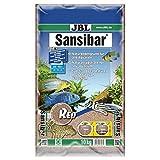 JBL Bodengrund Rot für Süß- und Meerwasser Aquarien, Sansibar Red 10 kg, 67067