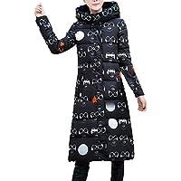 Women Outercoat Musheng Clothes Women Winter Warm Long-Sleeved Outerwear Hooded Coat Slim Cotton-Padded Jacket