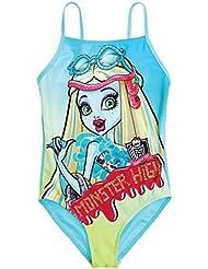 Producto oficial de Monster High Bañador bañadores natación Wear para niños niñas