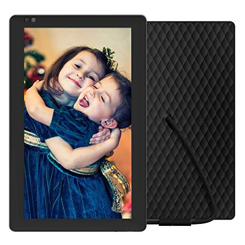 NIXPLAY Seed WLAN Digitaler Bilderrahmen 10 Zoll - Teilen Sie Momente sofort über die App oder E-Mail
