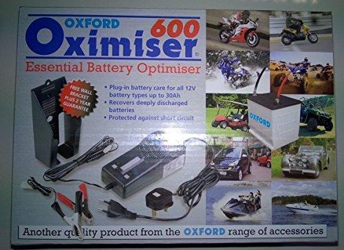 Oxford Oximiser 600Motorrad Batterie Erhaltungsladegerät 12V NEU
