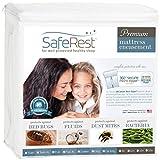 Queen Size saferest Premium Lab zertifiziert Bettwanzen wasserfest Reißverschluss Matratze umgreifung–Für vollständigen Schutz gegen Hausstaubmilben, Bettwanzen und Fluid, baumwolle, 9-12