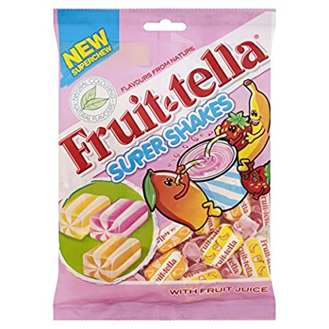 Fruittella Super Shakes 175 g (Pack of 8)