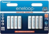 Panasonic eneloop BK-3MCCE/8BE Nickel Metal Hydride AA Batteries, Classic AA 8-Pack