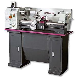 Optimum Drehmaschine Parallele tu2807-230V Abmessungen 140x 700mm