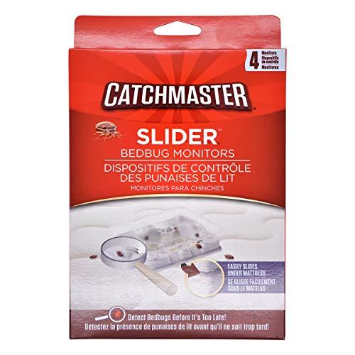 Catchmaster Bettwanzen Monitor Prävention und Bettwanzen Bekämpfung einzigartig | biologisch abbaubares Mittel gegen Bettwanzen | 4 Stück | 7cm x 5cm