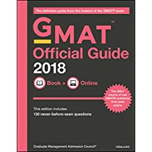 The Official Guide for GMAT Review 2018: Book + Online (with Online Question Bank and Exclusive Video)