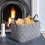 Descrizione dell'articolo:🌟Design intrecciato, aspetto elegante.🌟Materiale del soffitto resistente all'usura, può essere utilizzato per lungo tempo. Riciclabile, molto rispettoso dell'ambiente.🌟Il nostro cesto di legna da ardere è progettato principa...