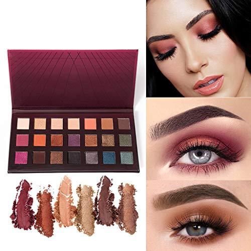 SMILEQ Cosmetic Matte Eyeshadow Cream Makeup Palette Shimmer Set 21 Farben Lidschatten (1X,...