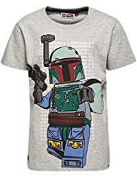 Lego Wear Lego Boy Star Wars Teo 150 S/S, T-Shirt Garçon