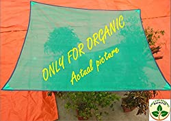 Only For Organic  Customized premium shade net with rope  (3m x 3m)