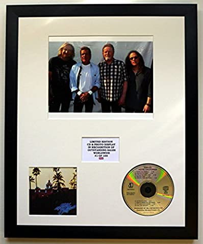 EAGLES/CADRE CD ET PHOTO/EDITION LIMITEE DE L'ALBUM/HOTEL CALIFORNIA