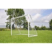 """¡OFERTA! Portería de fútbol POWERSHOT ® """"PRO"""" 2,4 x 1,8 m, de PVC y anti-UV, con 2 AÑOS de garantía!"""