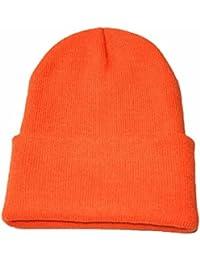Amazon.es  Naranja - Gorros de punto   Sombreros y gorras  Ropa 4f949dfd257b