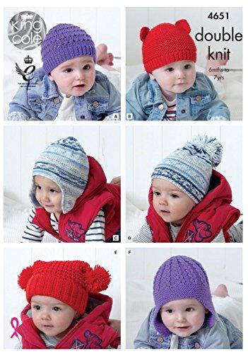 King Cole 4651 Knitting Pattern ...