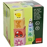 Goula - Cubos apilables de cartón , cartón números, 50 cm (Diset 55218)