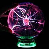 AOKARLIA Plasma Magic Ball Bola de iluminación, Bola de inducción electrostática, Juguetes de Navidad/Lámpara de Fiesta de Regalo, 6 Inch