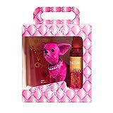 fruttini Geschenkset Precious Pink GLAMOROUS - Cherry Shower Gel 200ml & Bodyspray 150ml + süßer...