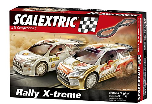 Scalextric Original - Circuito C2 Rally X-Treme A10162S500