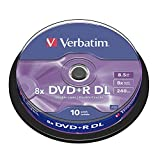 DVD+R Double Layer Verbatim Spindle de 10