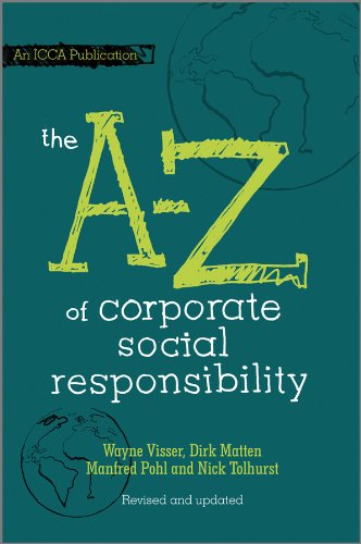 The A to Z of Corporate Social Responsibility (English Edition) -