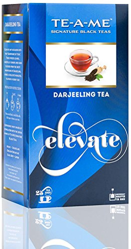TE-A-ME Darjeeling Tea Pack of 25 Tea Bag  available at amazon for Rs.75