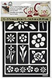 FolkArt Peel and Stick Painting Stencil, 30459 Floral