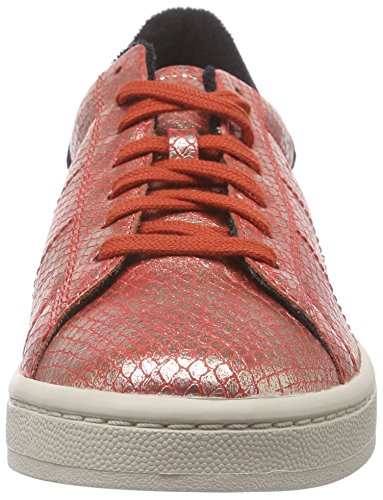 ESPRIT Gwen Lace Up Damen Sneakers Rot (825 red orange)
