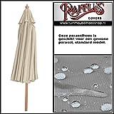 Raffles Covers RUS160 Sonnenschirmhülle mit Stab H: 160 cm Abdeckhauben für Sonnenschirm, Schutzhülle Ampelschirm, Abdeckhaube Sonnenschirm